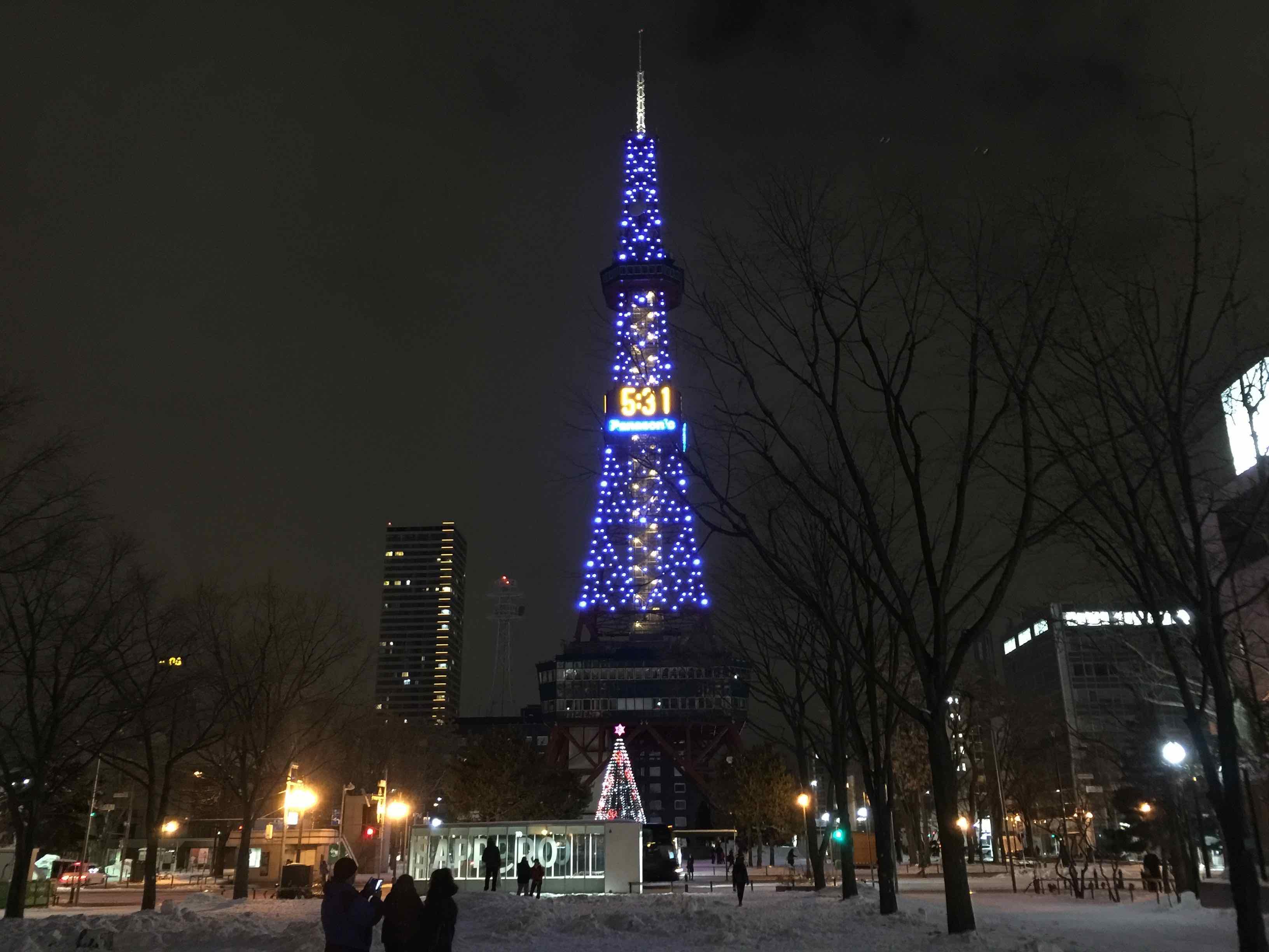 大通公園のテレビ塔