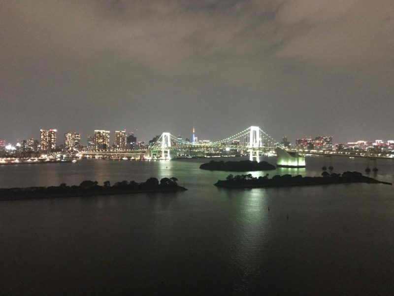 ヒルトン東京お台場の夜景