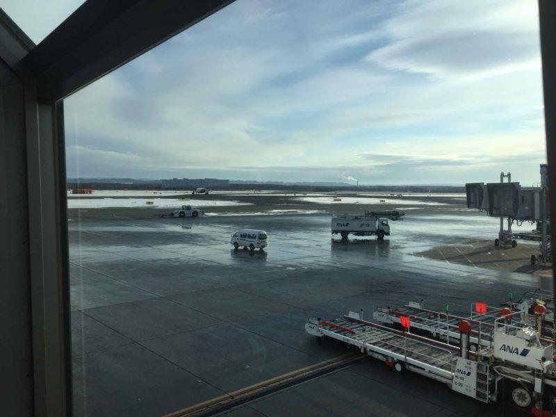 新千歳空港滑走路