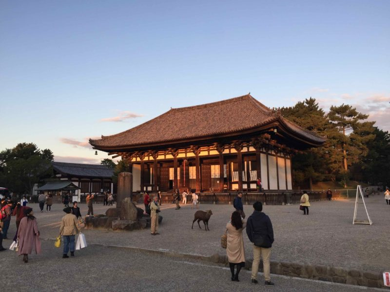 興福寺の境内